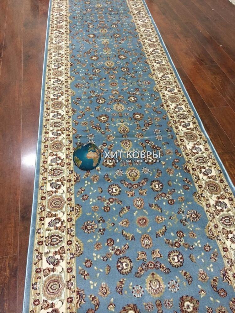 Бельгийская ковровая дорожка beljdorojki-793blue