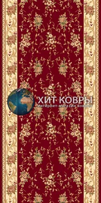 Российская ковровая дорожка hitdorojki-5455_red