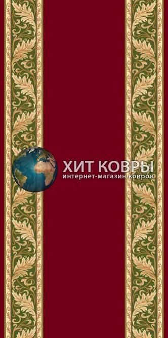 ковер в комнату hitdorojki-d040_red-green