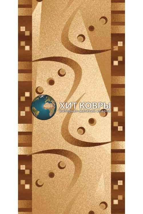 ковер в комнату hitdorojki-d089_beige-brown