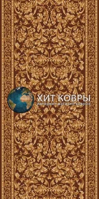 Российская ковровая дорожка hitdorojki-d126_brown