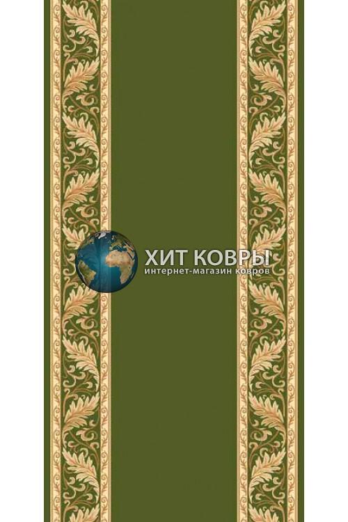 ковер в комнату кремлевский d040 зеленый 2