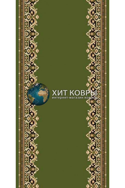 ковер в комнату kremlevskie-d165_green
