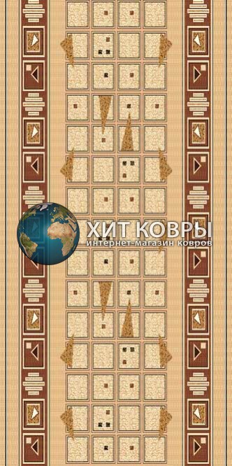 ковер в комнату sintdorojki-trg4_yellow