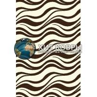 Российский ковер prymougolnik-comfort_shaggy-s609_cream-brown