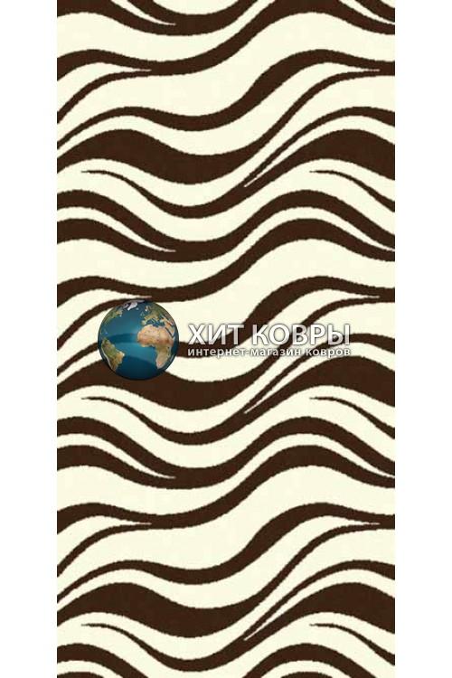 ковер в комнату Runner Comfort шегги s609 кремовый коричневый