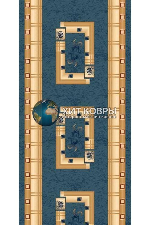 ковер в комнату Runner Da Vinci 5263 голубой