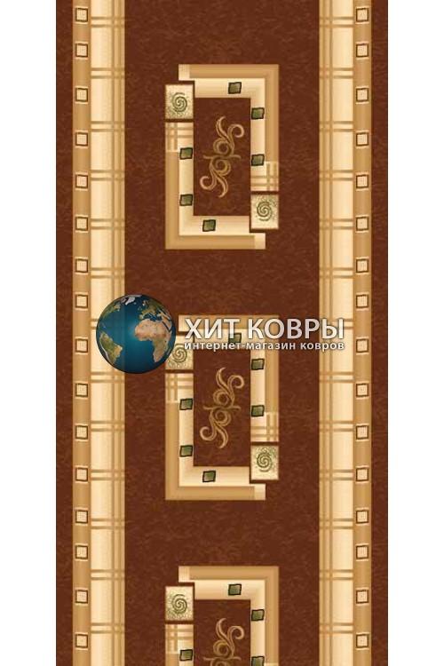 ковер в комнату Runner Da Vinci 5263 коричневый
