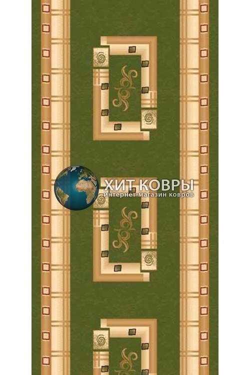 ковер в комнату Runner Da Vinci 5263 зеленый