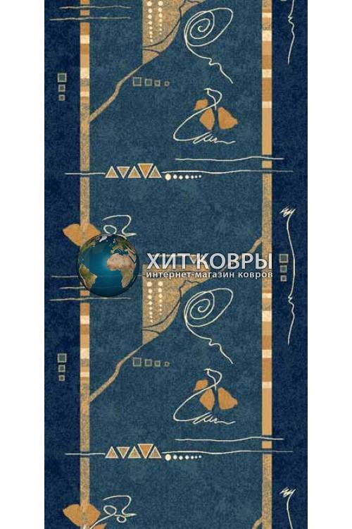 ковер в комнату Runner Da Vinci 5305 голубой
