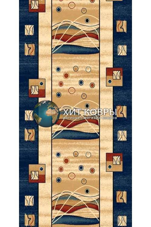 ковер в комнату Runner Da Vinci 5409 бирюзовый