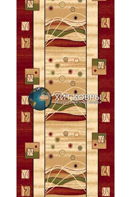 ковер в комнату Runner Da Vinci 5409 красный