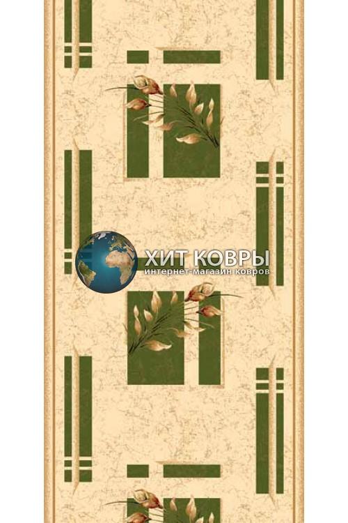 ковер в комнату Runner Da Vinci 5442 зеленый