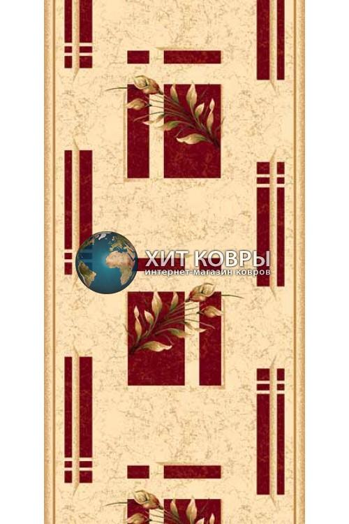 ковер в комнату Runner Da Vinci 5442 красный