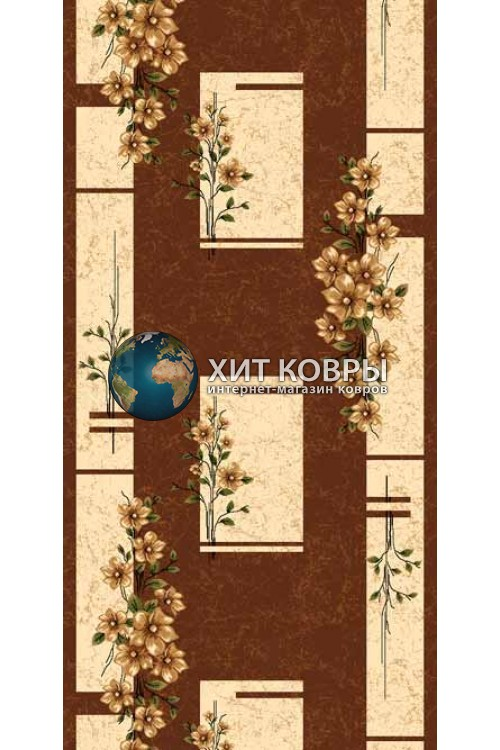 ковер в комнату runner-da-vinci-d024_brown