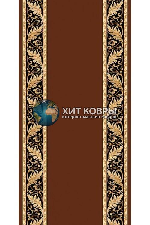 ковер в комнату Runner Da Vinci d040 коричневый