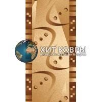 ковер в комнату runner-da-vinci-d089_beige-brown