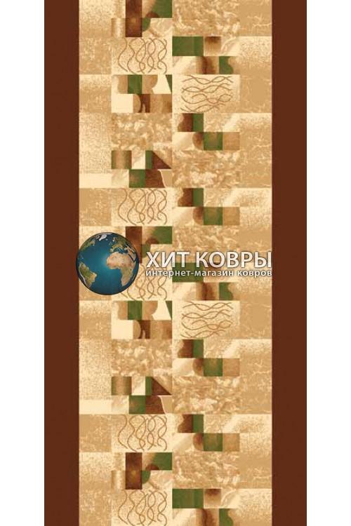 ковер в комнату Runner Da Vinci d143 коричневый
