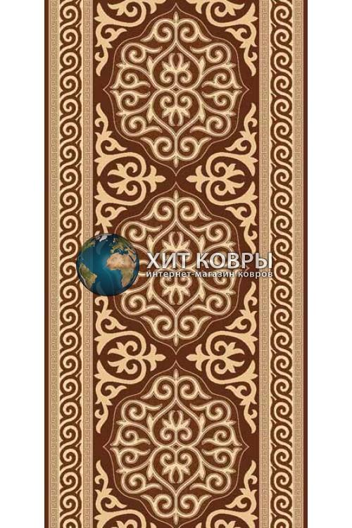 ковер в комнату Runner Da Vinci d153 коричневый