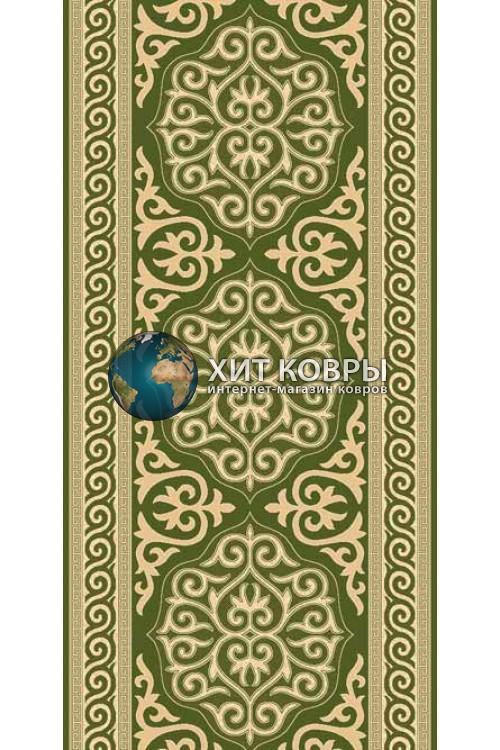 ковер в комнату Runner Da Vinci d153 зеленый