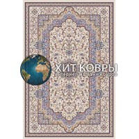 ковер в комнату prymougolnik-mashhad-d208_cream-blue