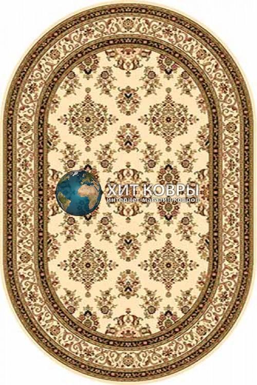 Российский ковер  овальный Olympos d064 кремовый