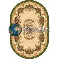 Российский ковер oval-olympos-d067_green