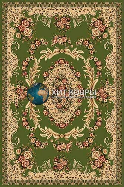 Российский ковер прямоугольный Olympos d073 зеленый