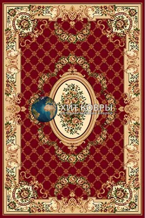 Российский ковер прямоугольный Olympos d075 красный