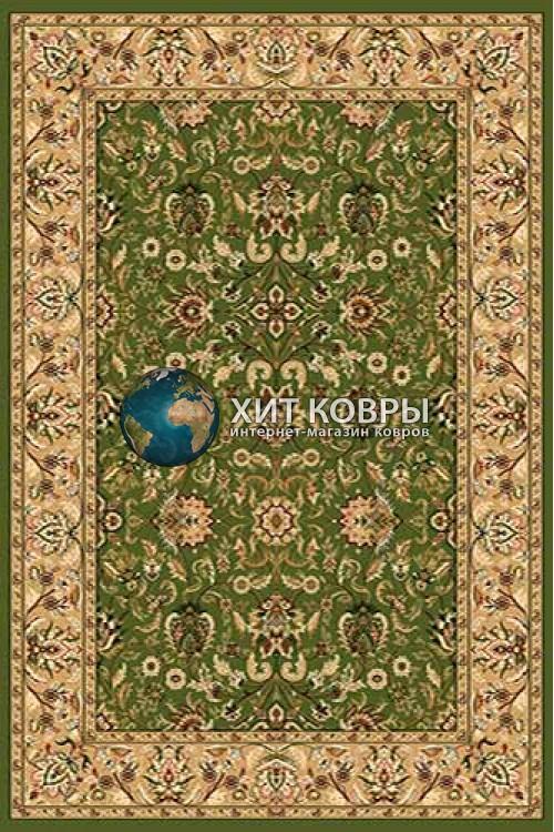 Российский ковер прямоугольный Olympos d076 зеленый