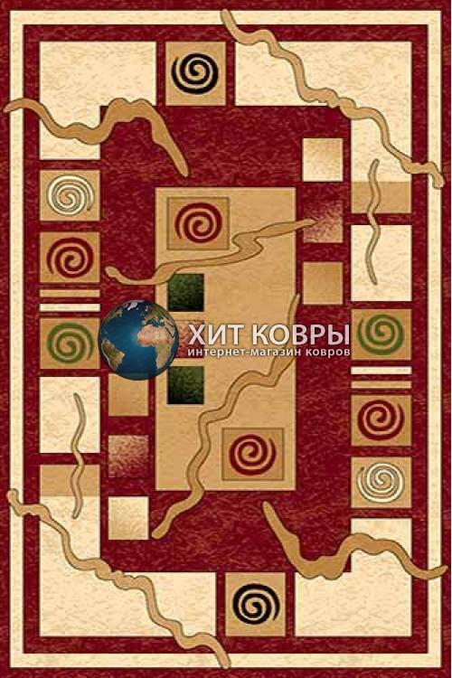 Российский ковер прямоугольный Olympos d077 красный