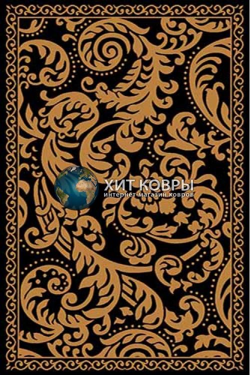 Российский ковер прямоугольный Olympos d123 черный