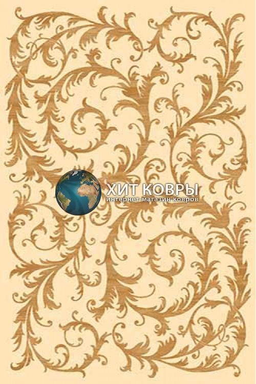 Российский ковер прямоугольный Olympos d156 кремовый