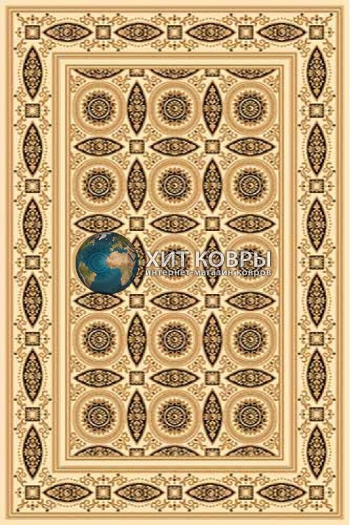 Российский ковер прямоугольный Olympos d157 кремовый