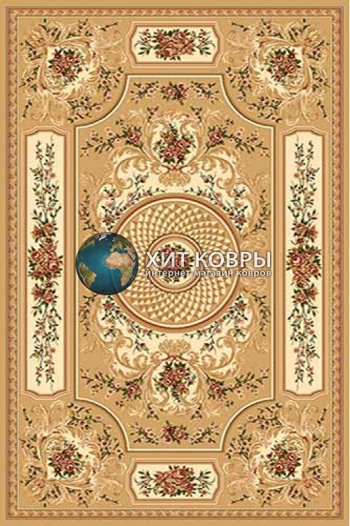 Российский ковер прямоугольный Olympos d170 бежевый