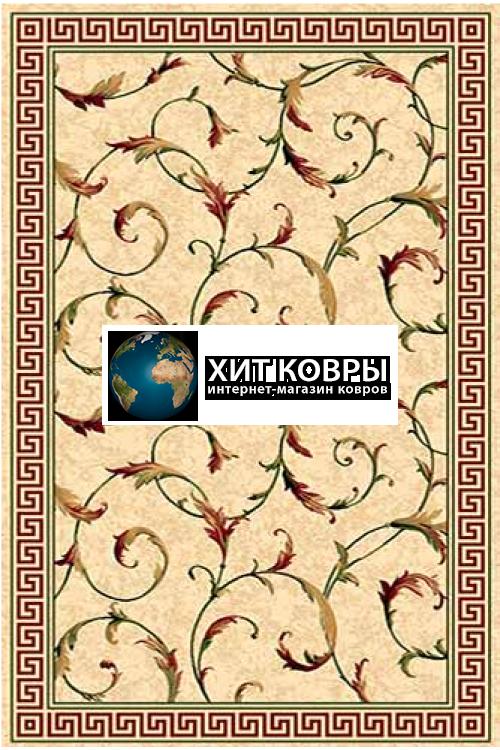 Российский ковер прямоугольный Olympos d343 кремовый