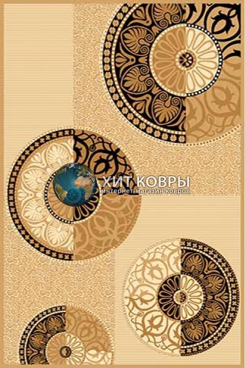 Российский ковер прямоугольный Olympos mn09 бежевый