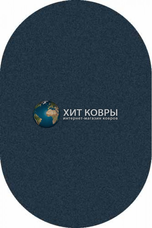 Российский ковер  овальный Platinum t600 бирюзовый