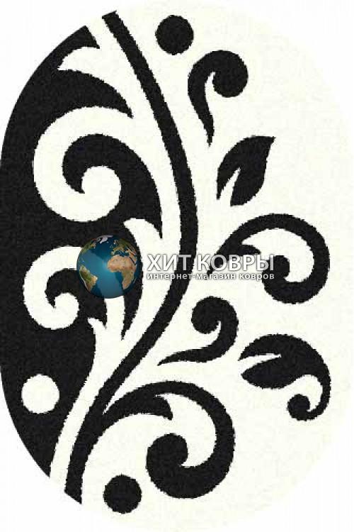 Российский ковер  овальный Platinum t621 natural