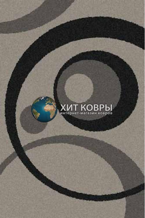 Российский ковер прямоугольный Platinum t151 серый