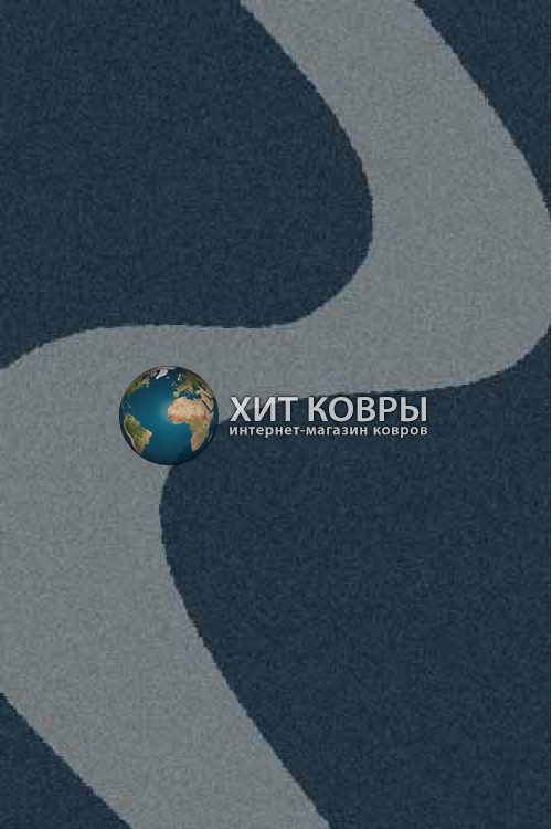 Российский ковер прямоугольный Platinum t616 бирюзовый