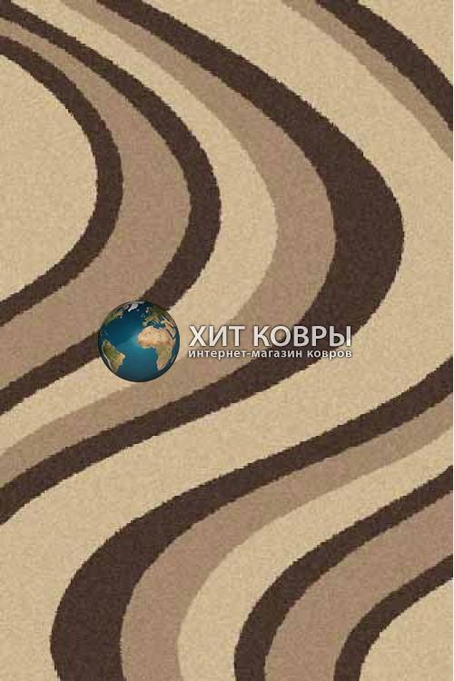 Российский ковер прямоугольный Platinum t617 бежевый