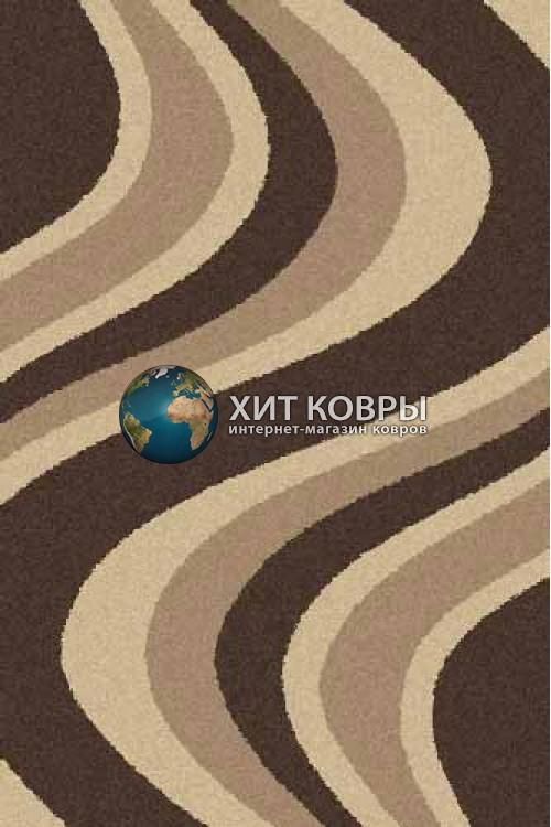 Российский ковер прямоугольный Platinum t617 коричневый