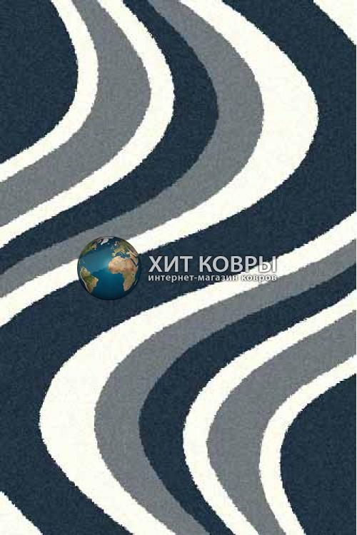 Российский ковер прямоугольный Platinum t617 бирюзовый