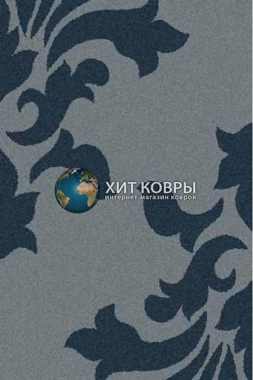 Российский ковер прямоугольный Platinum t620 голубой бирюзовый