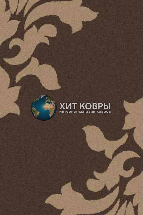 Российский ковер прямоугольный Platinum t620 коричневый d