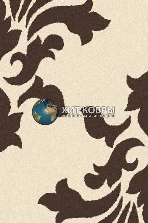 Российский ковер прямоугольный Platinum t620 кремовый коричневый