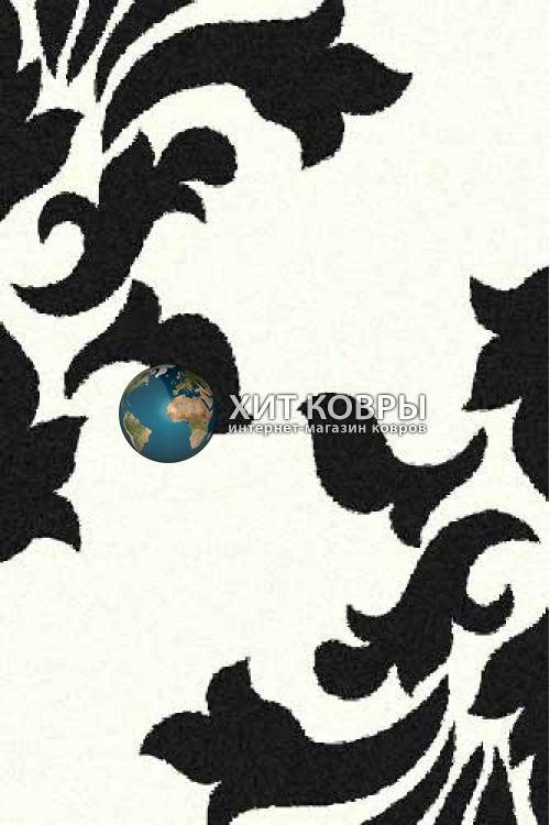Российский ковер прямоугольный Platinum t620 natural черный