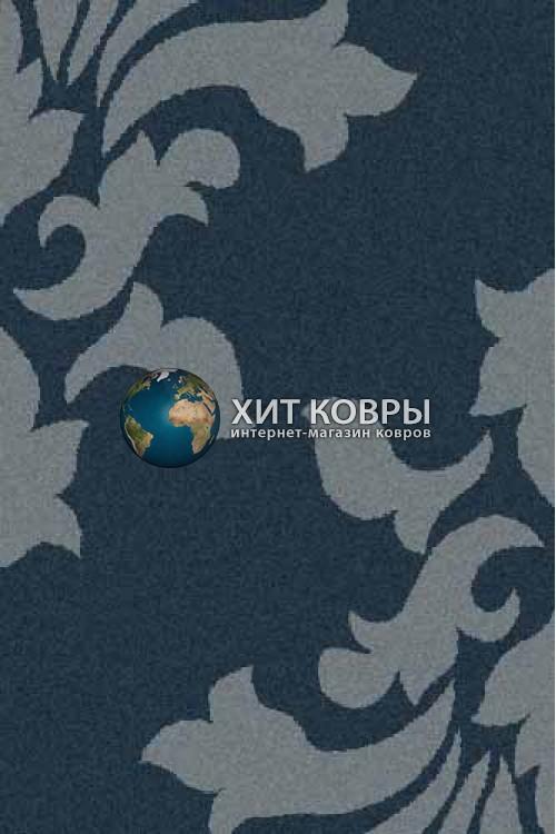 Российский ковер прямоугольный Platinum t620 морской волны