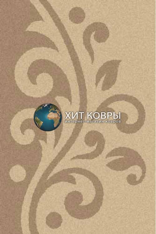 Российский ковер прямоугольный Platinum t621 бежевый